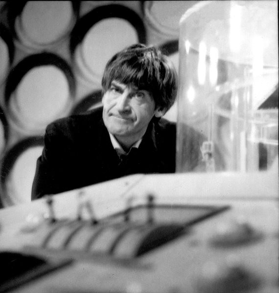 Patrick Troughton as the second Doctor. Shot number RT 3700 20.