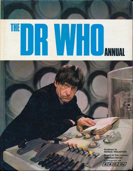 A colour shot that eventually adorned the cover of The Dr Who Annual, published in 1969.