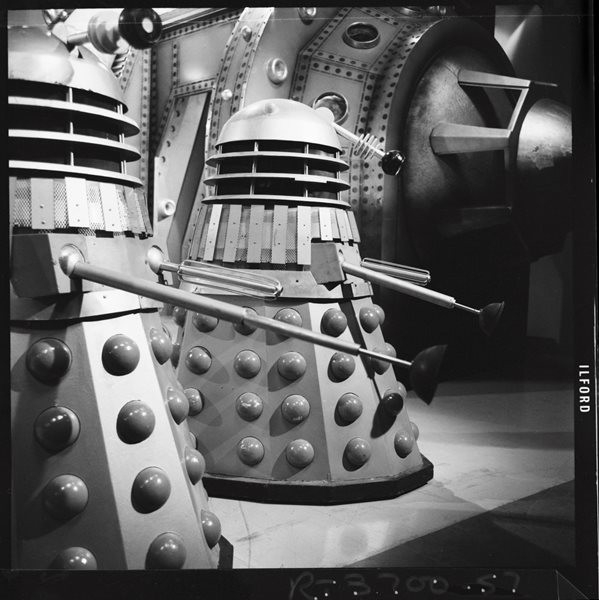 Daleks. Shot number RT 3700 67.