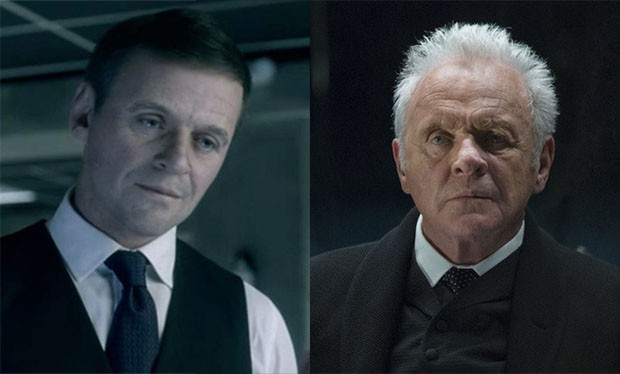 westworld young anthony hopkins how did they do it robert ford