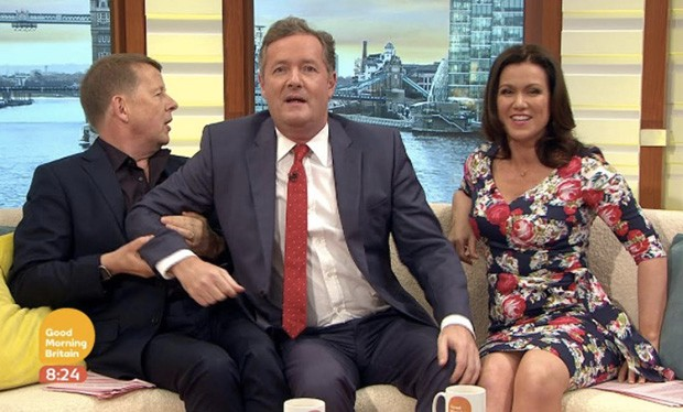 Bill Turnbull and Susanna Reid reunite on Good Morning Britain