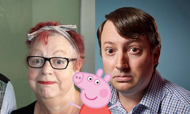 Peppa Pig adds guest stars David Mitchell and Jo Brand for