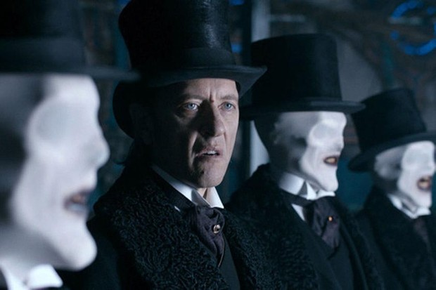 Richard E Grant as The Great Intelligence in Doctor Who (BBC, HF)