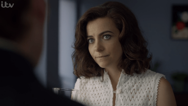 Sara Vickers as Joan Thursday in Endeavour (ITV, HF)