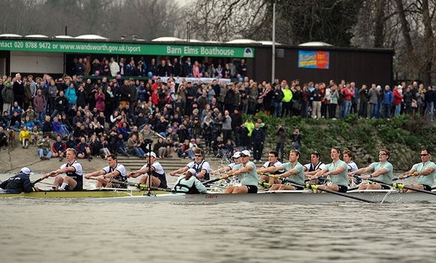 What Time Is The 2017 Boat Race Between Oxford And Cambridge On Tv