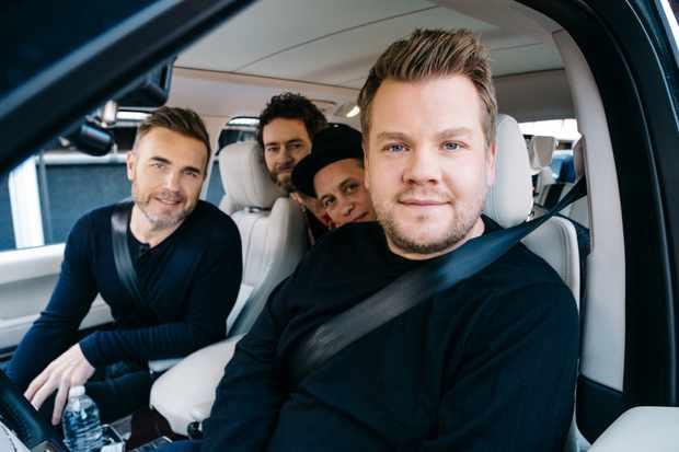 Carpool Karaoke James Corden And Take That Reveal The Secrets Of