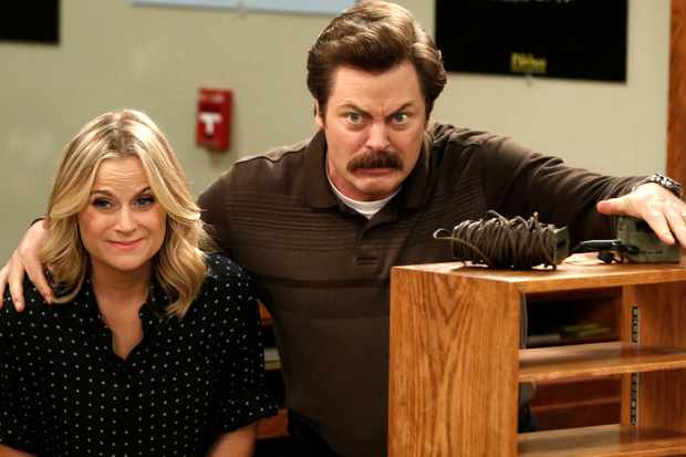 will there be any more parks and recreation no but poehler and nick offerman will reunite as. Black Bedroom Furniture Sets. Home Design Ideas