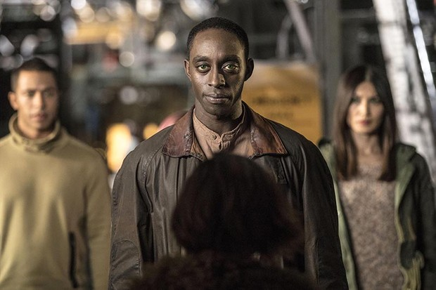 Ivanno Jeremiah as Max in Humans (Channel 4, HF)