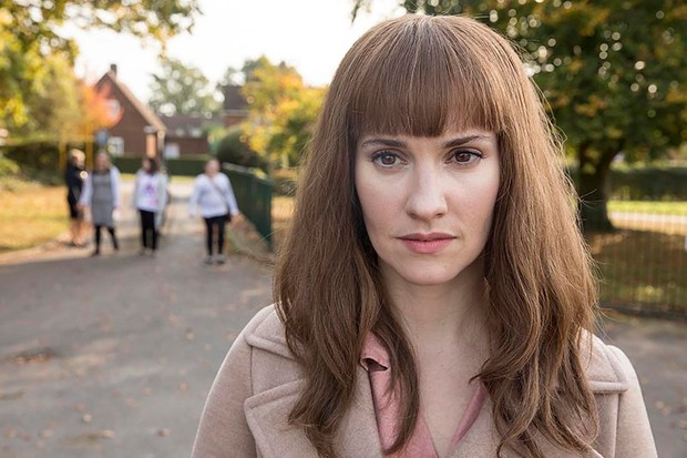 Ruth Bradley as Karen in Humans series 3