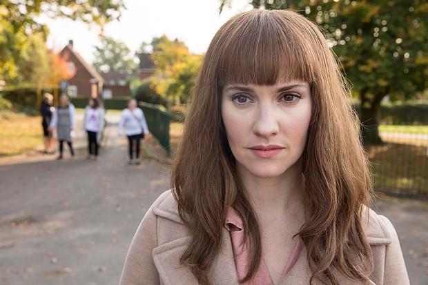 Ruth Bradley as Karen in Humans series 3