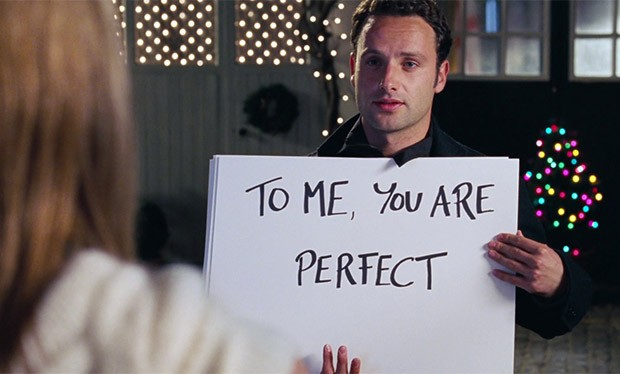 Image result for love actually perfect