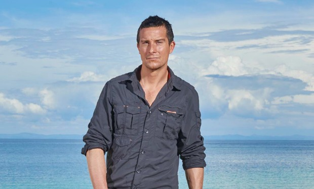 bear grylls on the island education never giving up and whether he