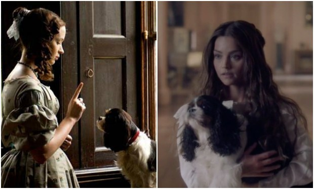 The dog who plays Dash in Victoria is the dog in The Young