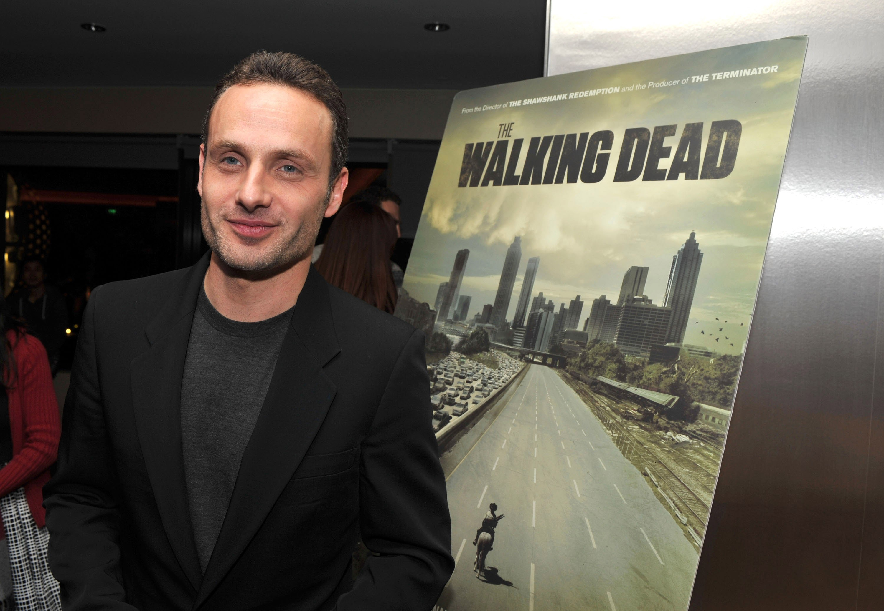 "Andrew Lincoln attends ""The Walking Dead"" Screening And Panel For SAG Nominating Committee at Pacific Design Center on October 27, 2010 in West Hollywood, California. (Photo by Craig Barritt/WireImage)"