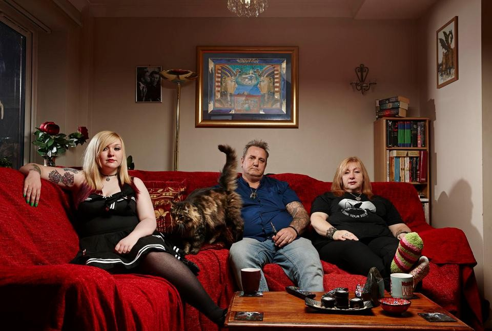 Gogglebox Woerdenweber family