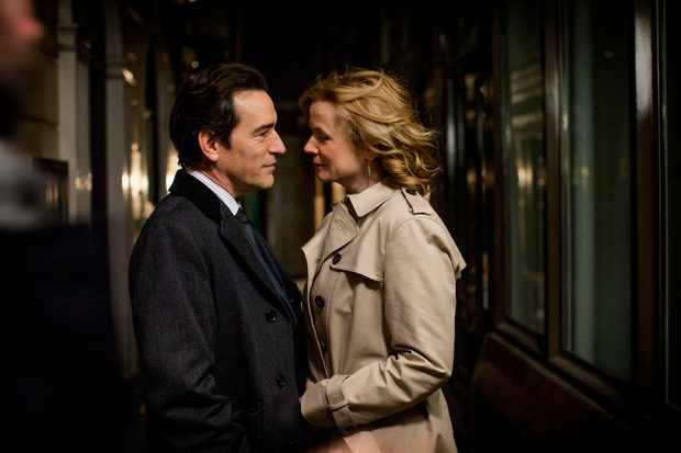 Ben Chaplin and Emily Watson, Apple Tree Yard