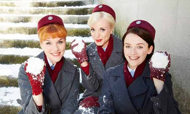 Will It Snow For Christmas Cast.Call The Midwife Cast Reunite For Series 7 Christmas