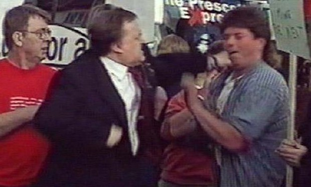 Image result for election punch john prescott