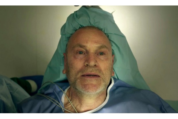The final scene of The Missing series two showed detective Julien Baptiste preparing for surgery (BBC, JG)