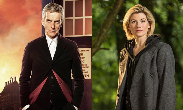 Peter Capaldi and Jodie Whittaker