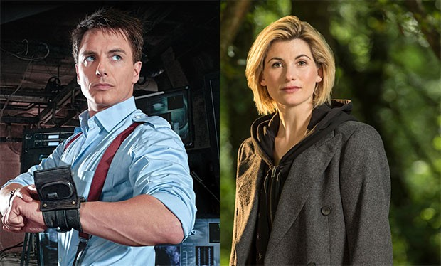 John Barrowman and Jodie Whittaker