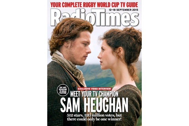 Outlander's Sam Heughan on season 2, fame and fandom, and