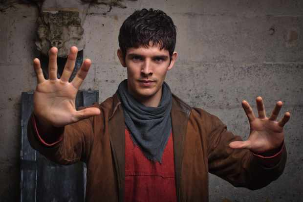 Colin Morgan in Merlin (BBC, EWA)