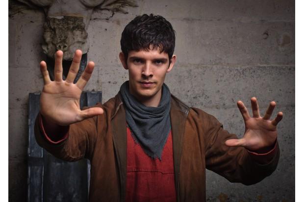 Colin Morgan in Merlin (BBC, EWA)