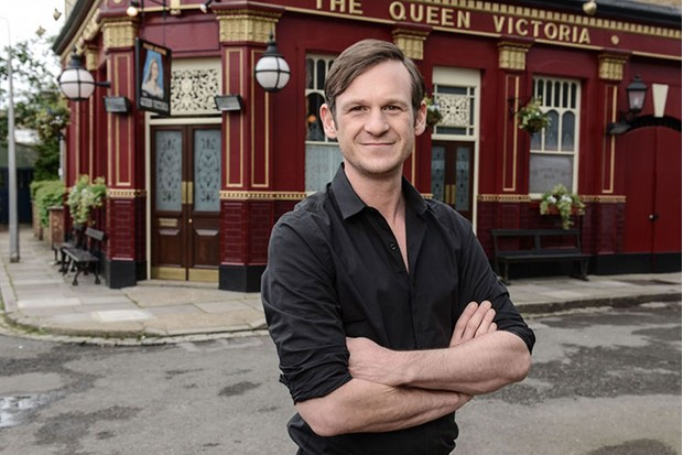 New job for ex eastenders boss dominic treadwell collins revealed speaking this afternoon the former walford boss said as a massive fan of blueprints films i am so excited to be joining graham pete and diarmuid to malvernweather