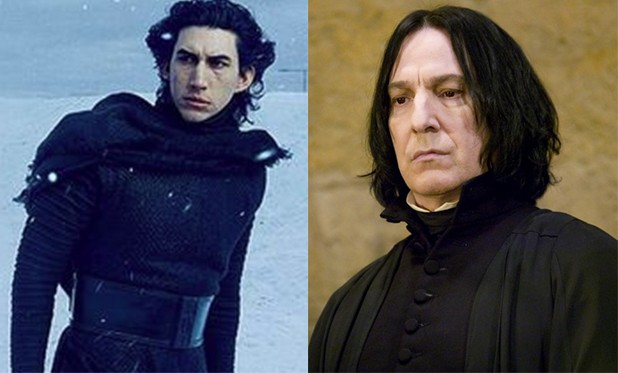 Harry Potter fans want Adam Driver to play Severus Snape in