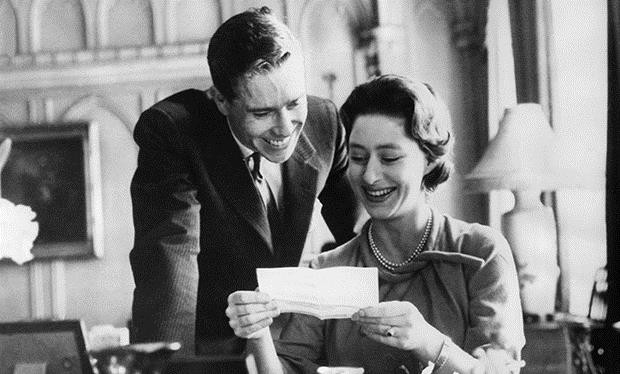 7a09dbc544 Princess Margaret with her husband Antony Armstrong-Jones in the happy  early days