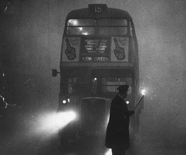Air Pollution and the significance of the great Smog of London on the 5th December 1952