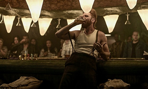 Who is Mad Sweeney in American Gods, and what myth is the