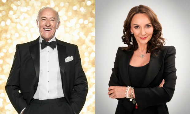 Len Goodman and Shirley Ballas