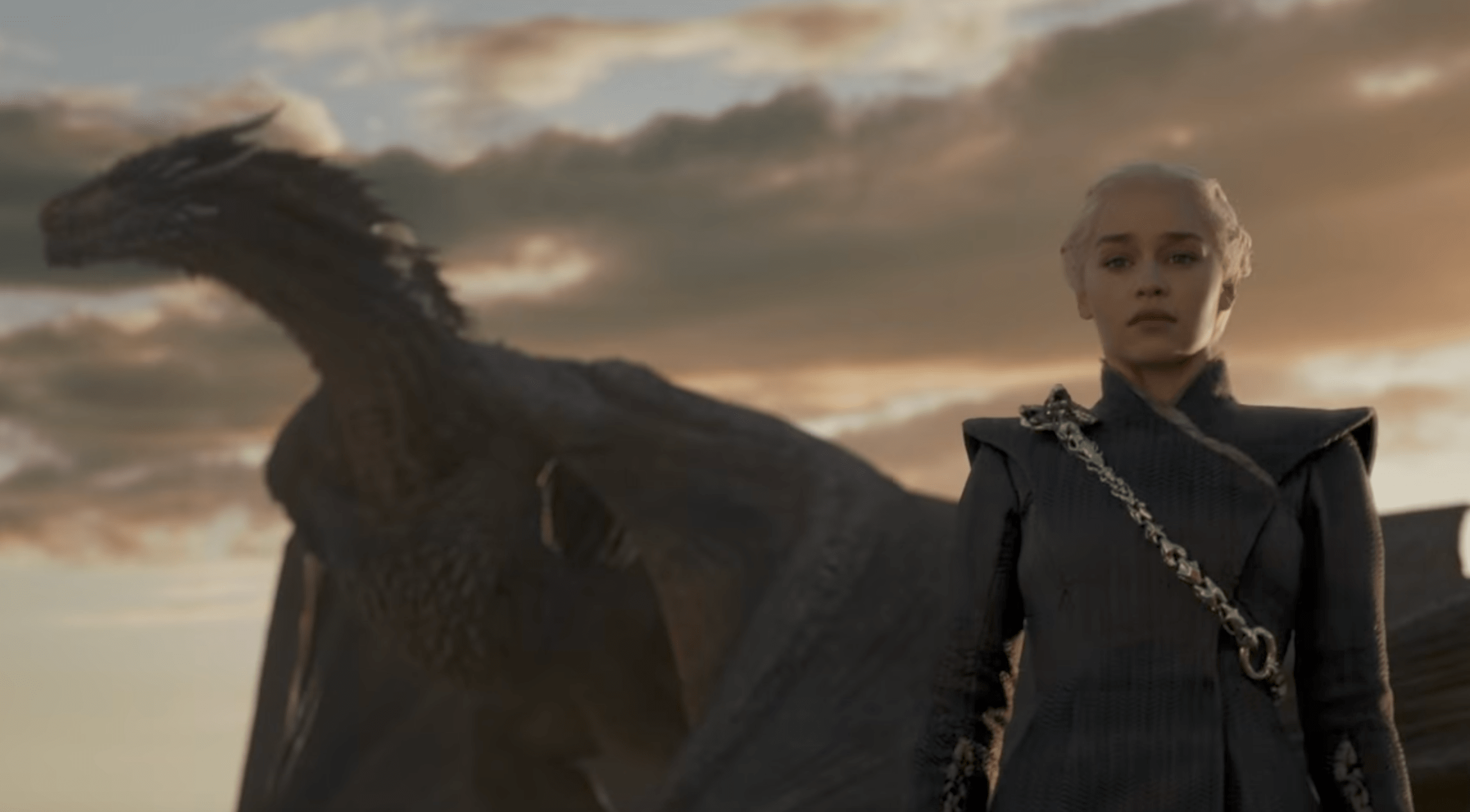 daenerys is power mad and jon meets a dragon