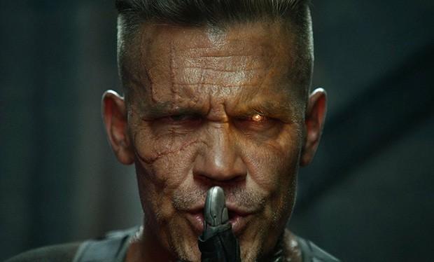Josh Brolin as Cable in Deadpool 2 (20th Century Fox, HF)