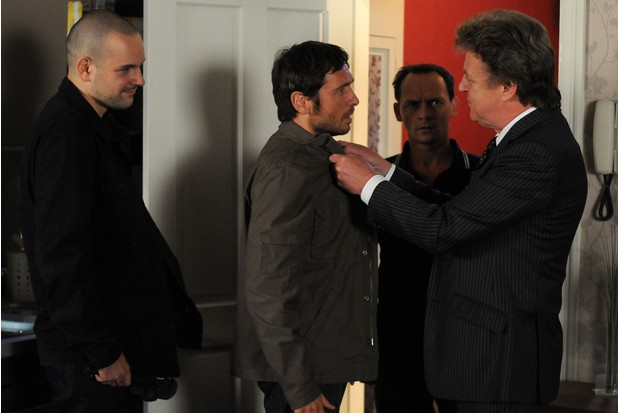 EastEnders Jase Dyer and Terry Bates