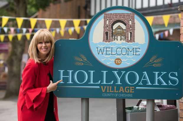 Hollyoaks Kate Garraway