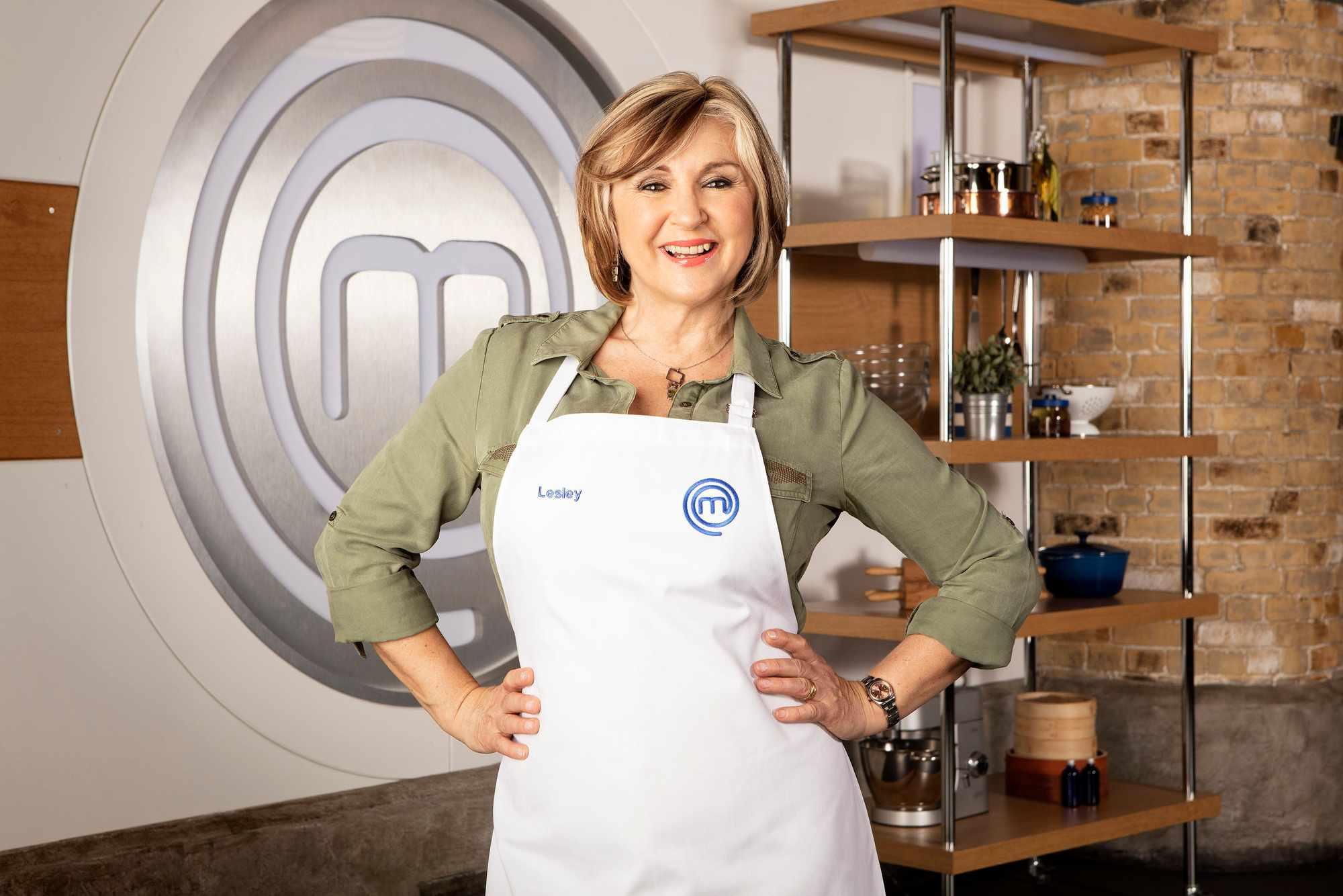 Celebrity MasterChef contestant Lesley Garrett