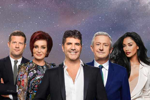 The X Factor 2017 judges