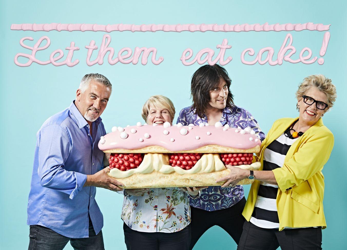 bake off presenters judges shoot