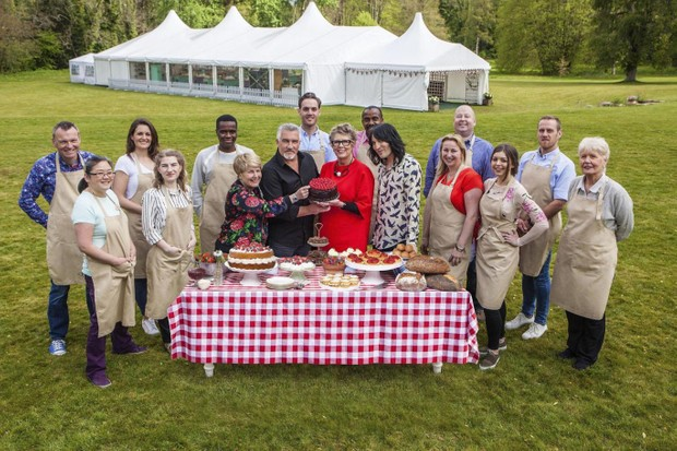 Bake Off 2017 contestants