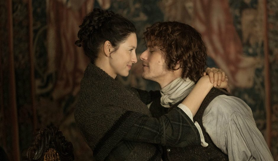 Here's what Sam Heughan and Caitriona Balfe can say about dating rumors.