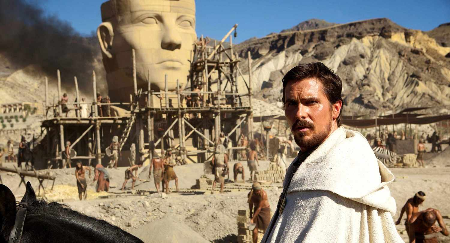 Christian Bale as Moses