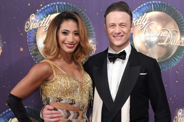 Karen and Kevin Clifton Strictly 2017