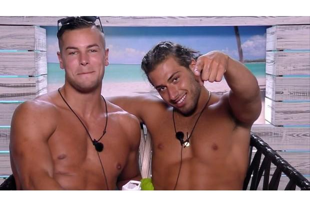 Love Island's Chris and Kem