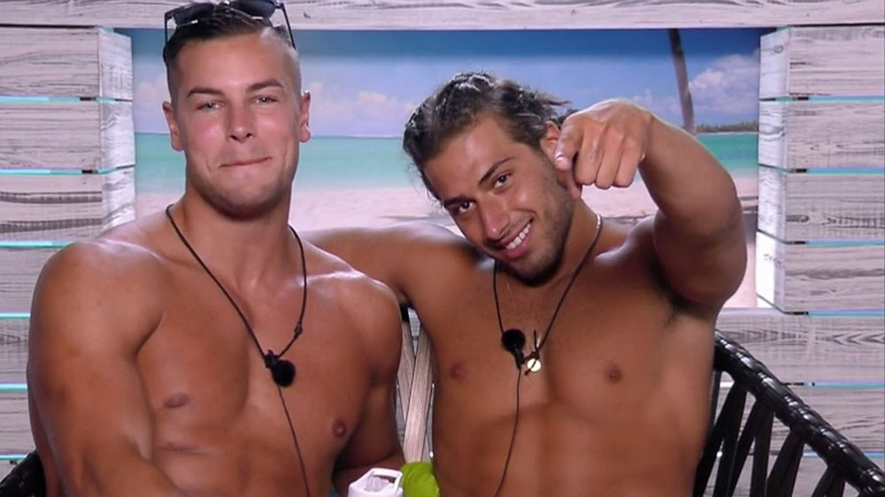 Love Island's Chris and Kem