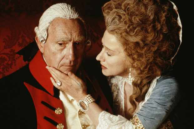 Nigel Hawthorne and Helen Mirren