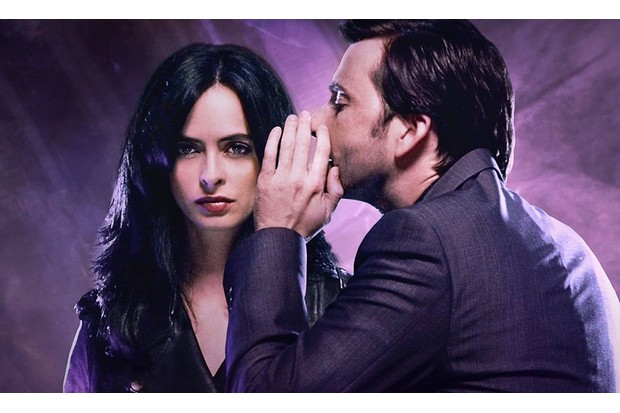 Jessica Jones, David Tennant, Krysten Ritter