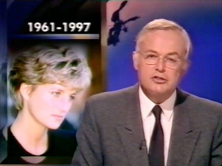 Princess Diana Bbc S Martyn Lewis Recalls Breaking News Of Her